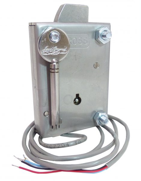 1000-AC2-LK4 BRAMAH (Key override) Access Control Safe Lock Option