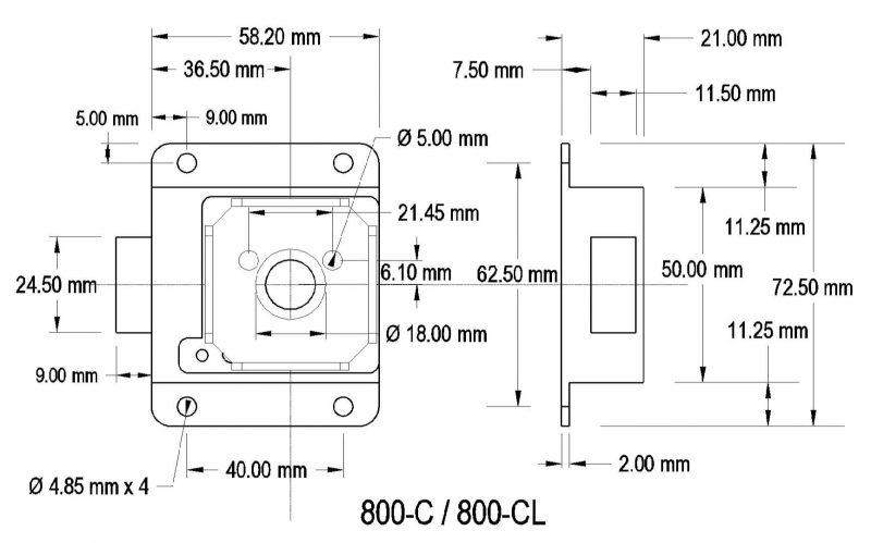 800-C / 800-CL