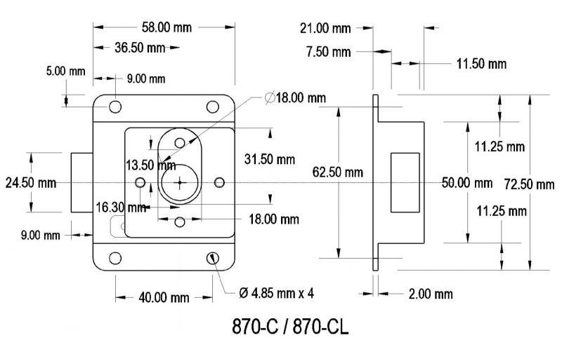870-C / 870-CL