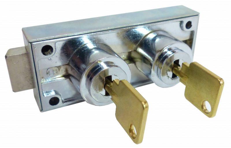 RS-AVA-DSDL Ross/Ava Dual Safe Deposit Lock